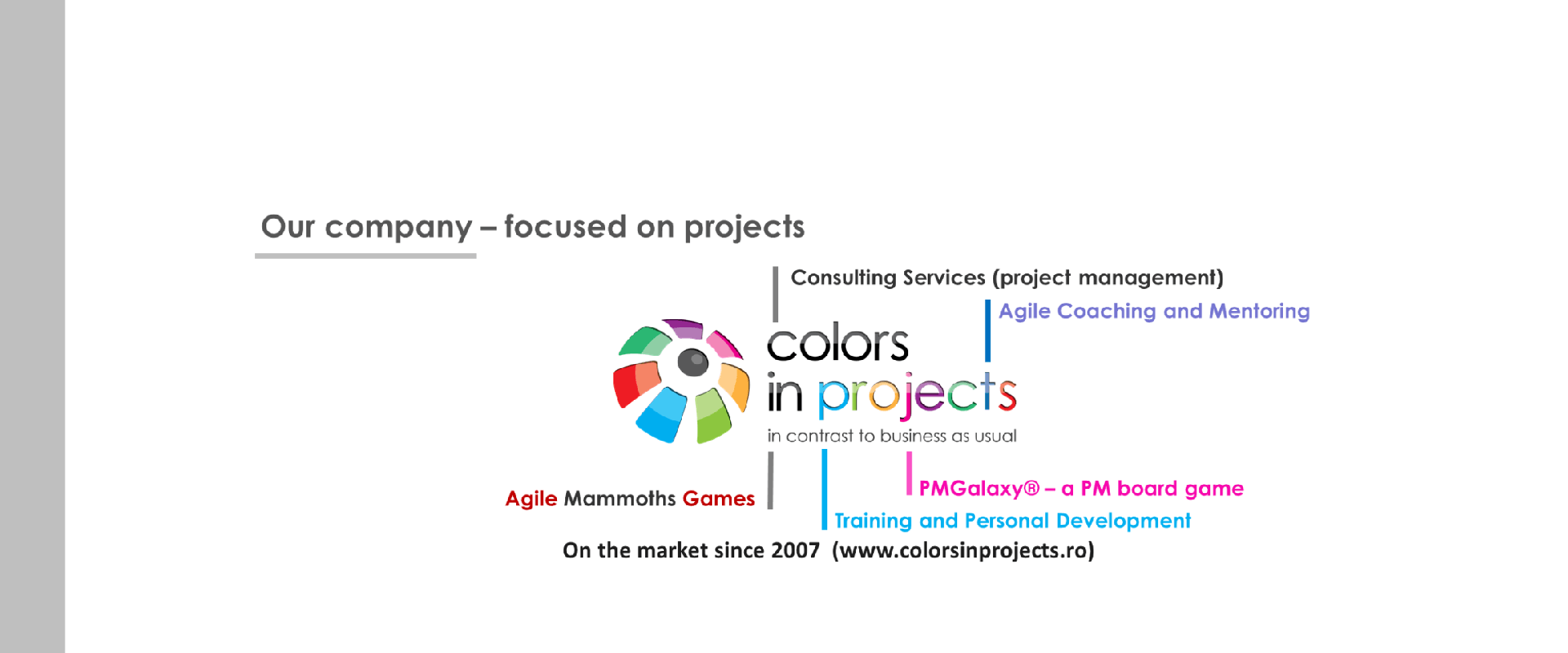 Colors in Projects