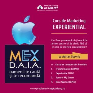Curs de marketing experiential