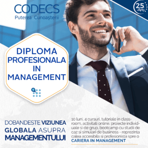 Diploma Profesionala in Management CODECS