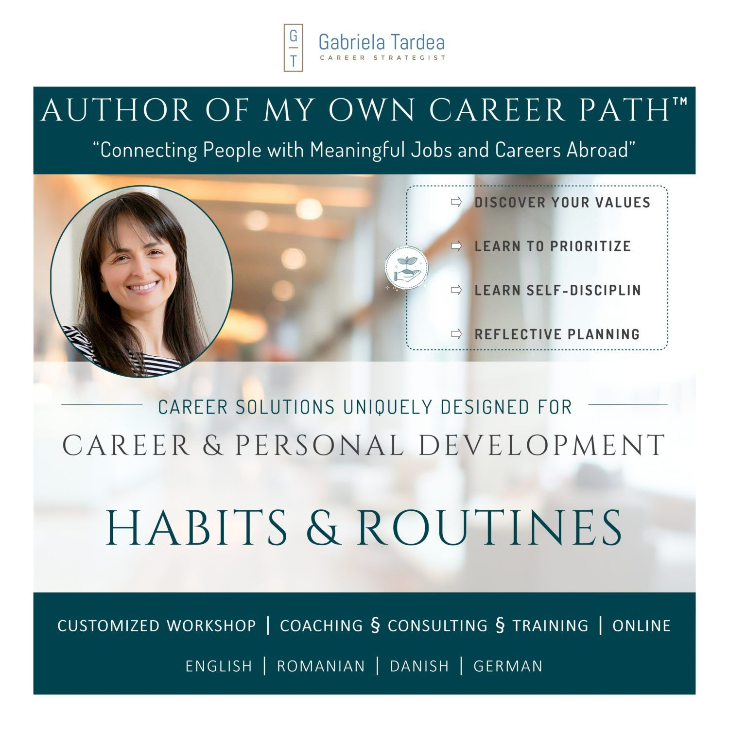 Career and Personal Development_Habits and Routines Workshop_Program_Qriser