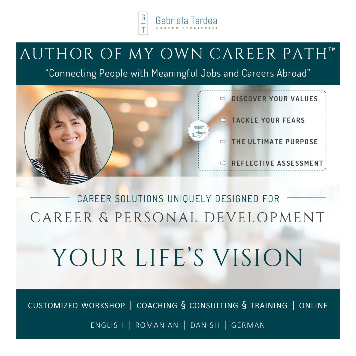 Career and Personal Development_Your Life Vision Workshop_Program_Qriser