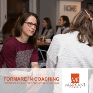 FORMARE IN COACHING, CU ACREDITARE ANC, Markant Consult, program Qriser