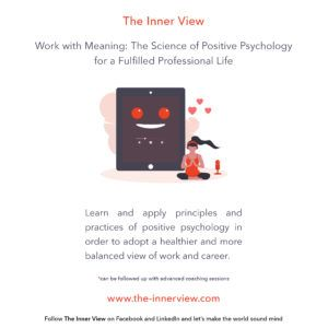 Work with Meaning. The Science of Positive Psychology for a Fulfilled Professional Life