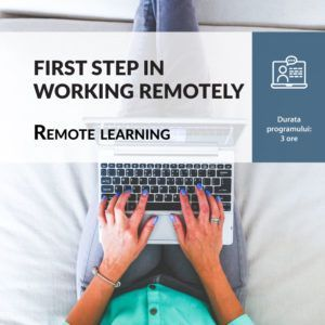 FIRST STEP IN WORKING REMOTELY